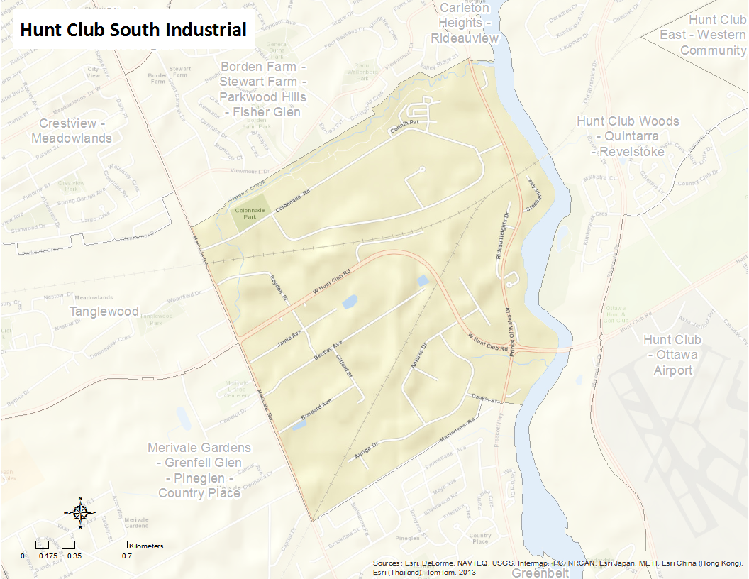 Hunt Club South Industrial