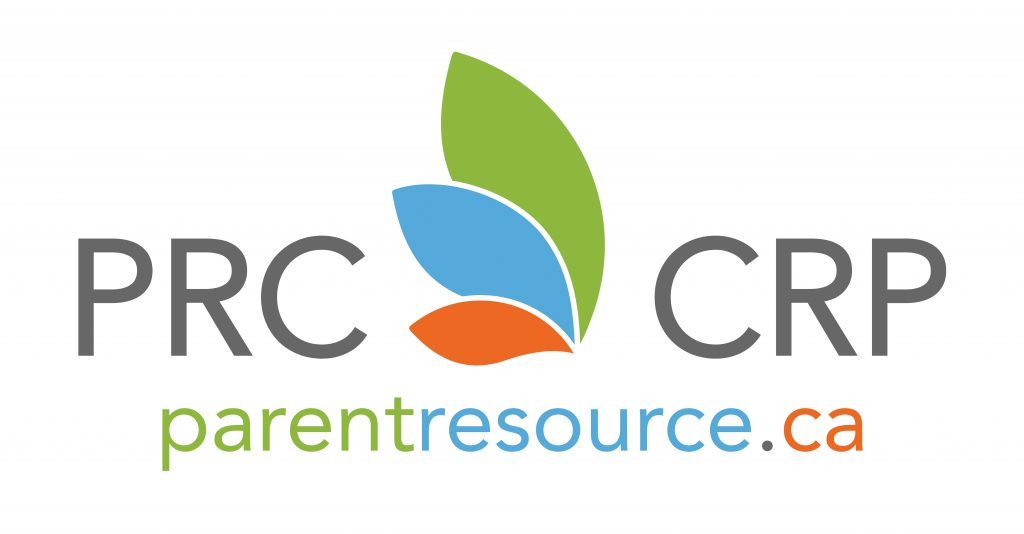 Parent Resource Centre Logo Centre de Ressources pour Parents