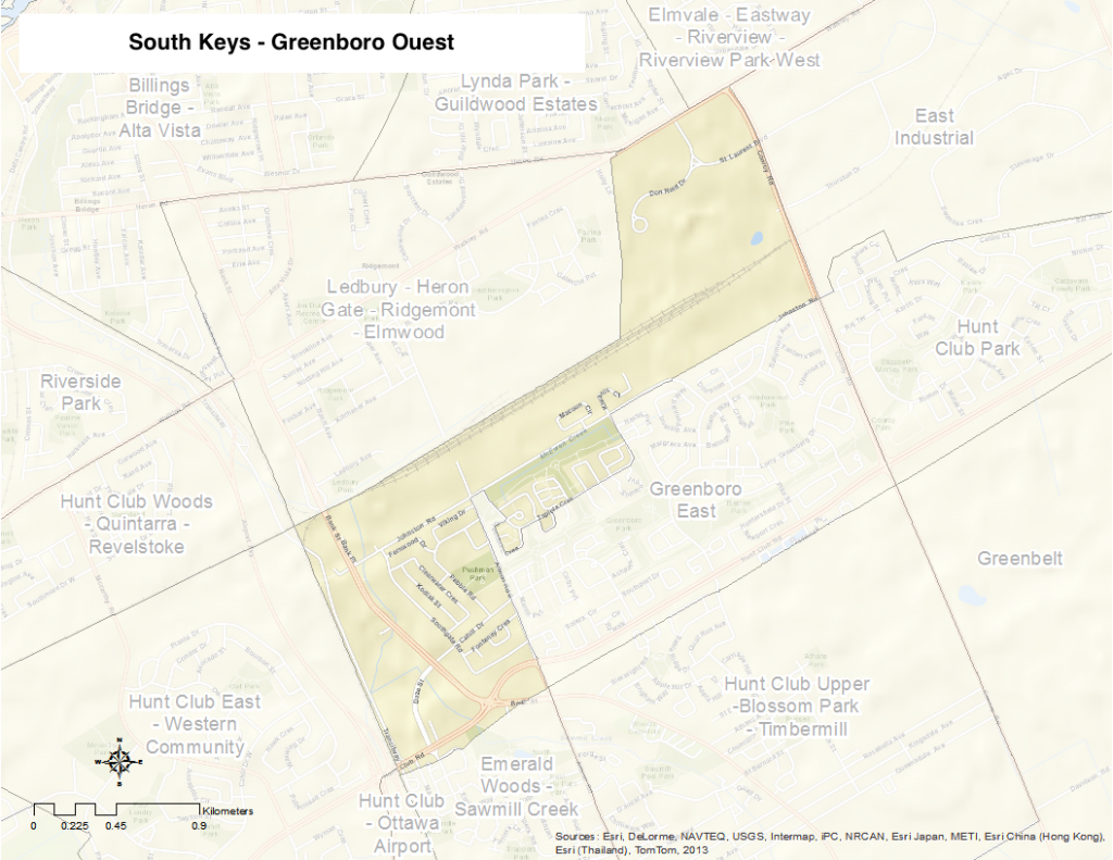 South keys greenboro ouest tude de quartiers d ottawa for Club piscine hunt club ottawa