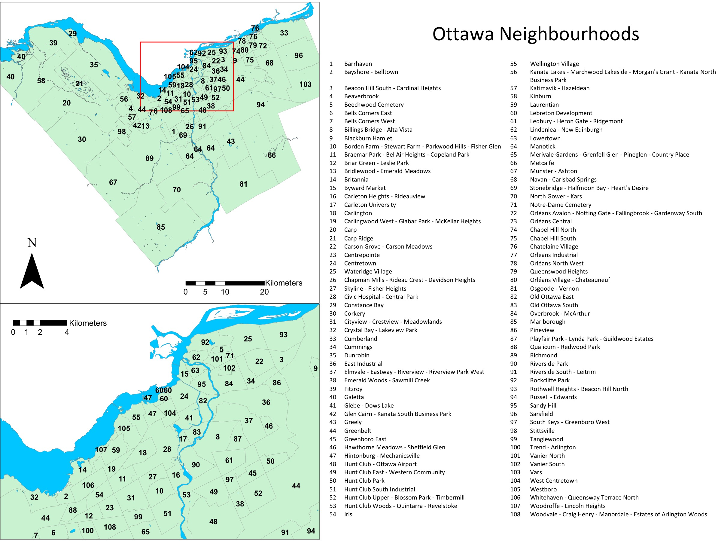 Neighbourhood Names