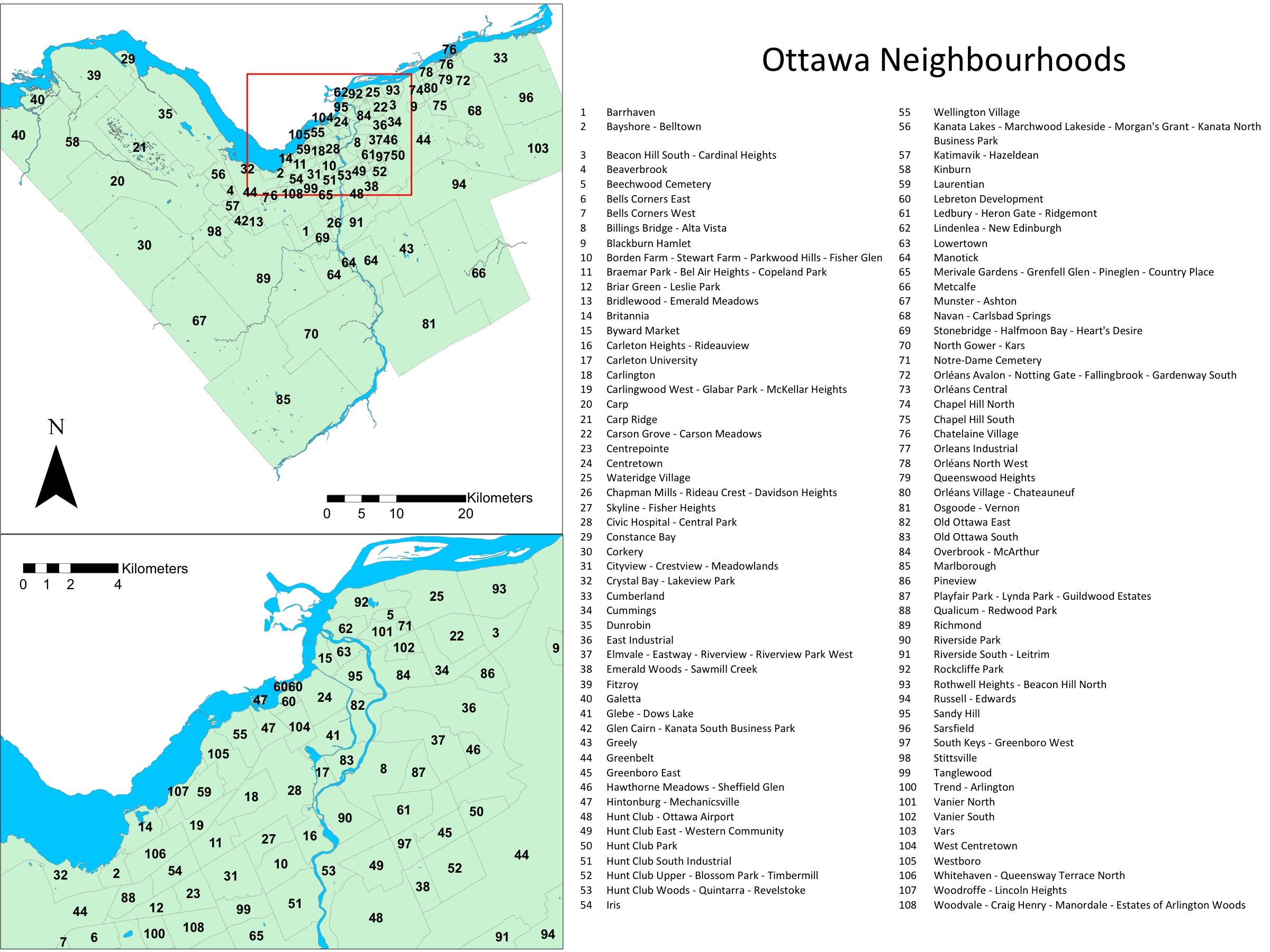 Neighbourhood Names