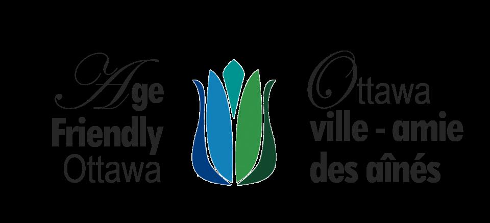 Age Friendly Ottawa Logo Ottawa ville-amie des aînés